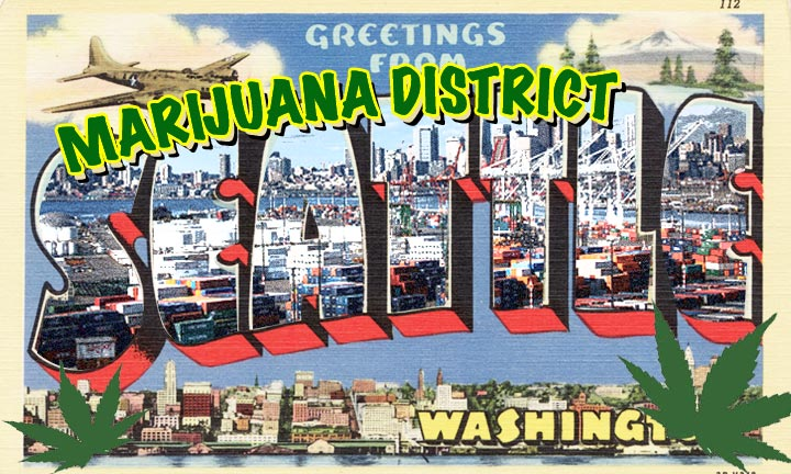 Welcome to the Marijuana District: The Future Cannabis Hub of Seattle?