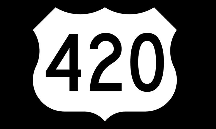 Did you know? Cannabis City Uses 420 as an Interesting Design Element