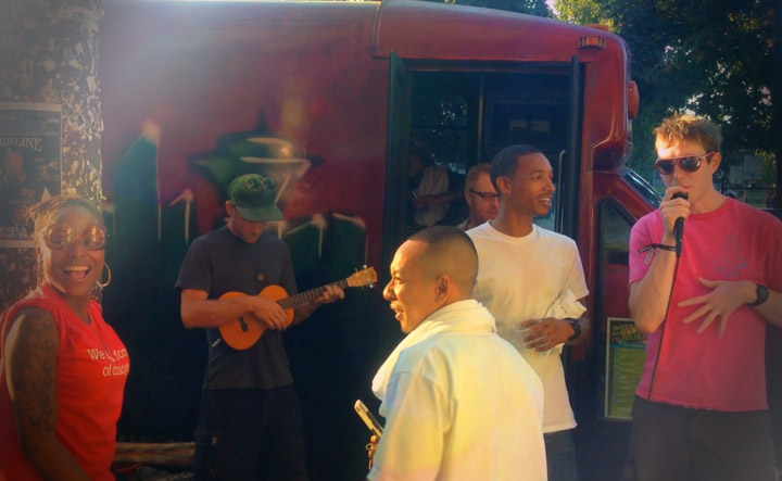 The Weed Bus Rolls Into Capitol Hill & Throws a Smokin' Party