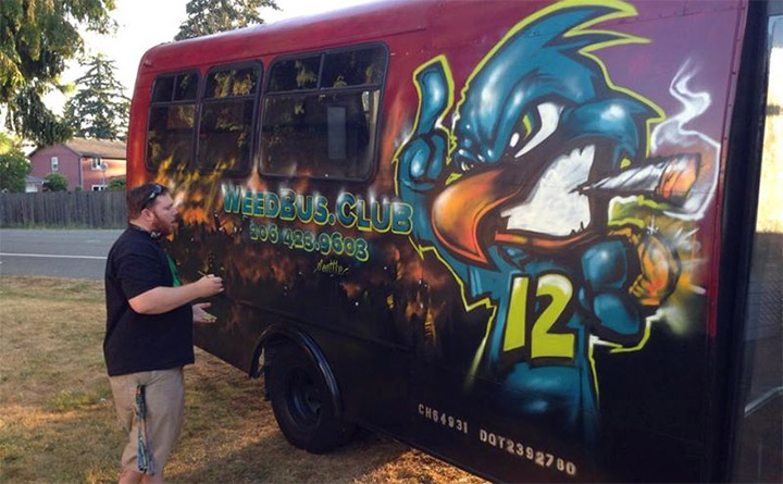 You Got the Look: Weed Bus Gets a Makeover & More!