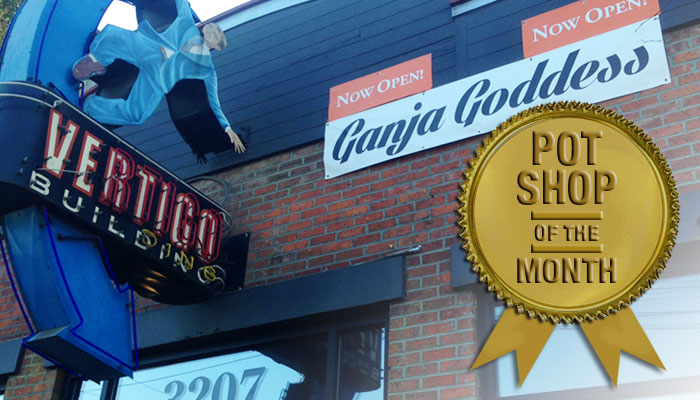 Pot Shop of the Month (November): Ganja Goddess in Seattle's Industrial District