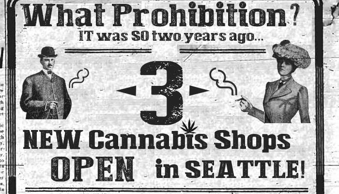 3 More Seattle Marijuana Stores Open: Grass & Mary's by Michael Perkins & SODO's Ganja Goddess