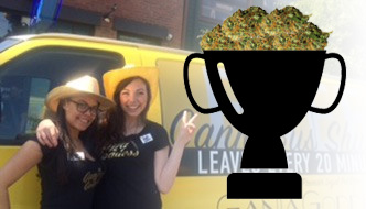 Creative Brilliance Award for June 2015: The CannaBus Shuttle by Ganja Goddess