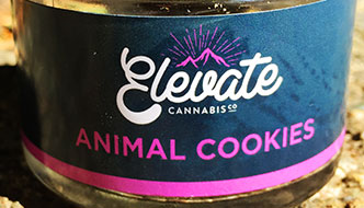 Marijuana Review: Animal Cookies by Elevate Cannabis Co. from Clutch Cannabis