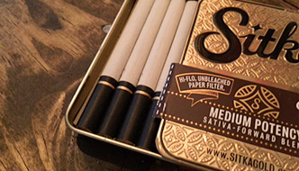 Marijuana review: cannabis cigarettes by Sitka