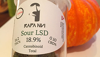 Marijuana Review: Sour LSD by Rapa Nui